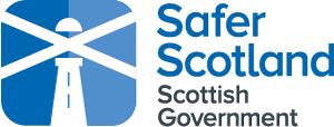 Safer Scotland Scottish Government logo